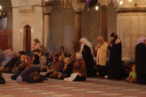 Blue Mosque: Women corner